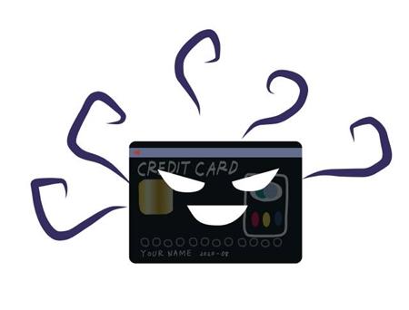 クレジットカードを不正利用された